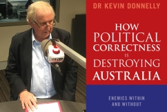 Alan Jones and Tony Abbott join forces to launch new anti-PC book