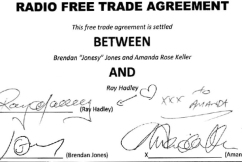 Deal done | Ray Hadley signs major radio agreement with WSFM's Jonesy and Amanda
