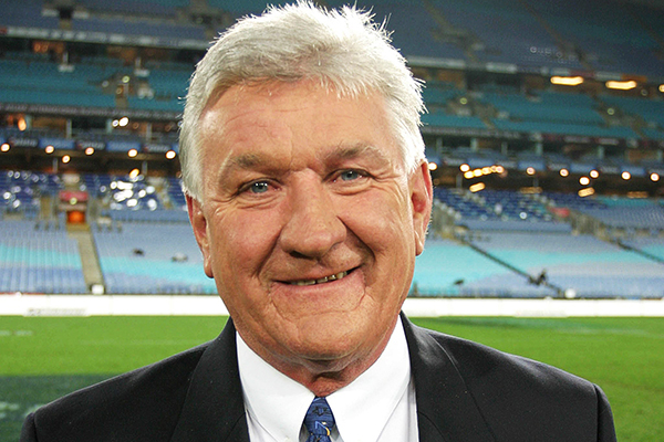 Article image for Ray Warren 'emotional' ahead of 'landmark' State of Origin call