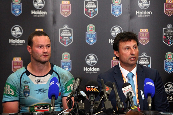 Article image for 'Pity it didn't happen over the last couple of years': Laurie Daley previews Origin I