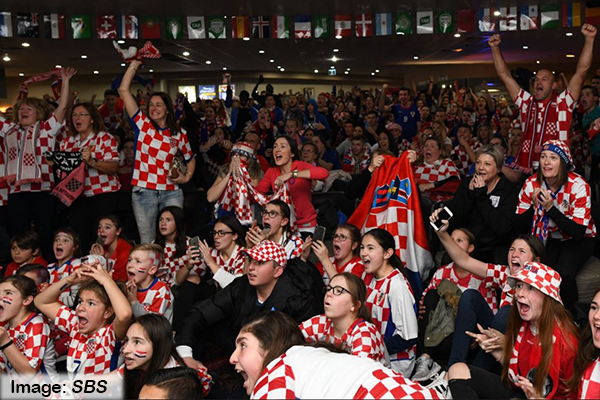 Article image for Croatians still partying across Australia