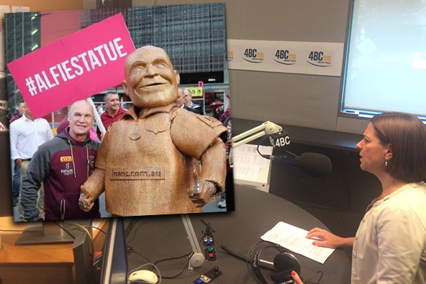 Article image for 'It just shows how out of touch this Premier is': Premier knocks back offer for Alfie statue