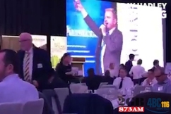 WATCH | TV presenter goes on foul-mouthed rant while hosting charity event