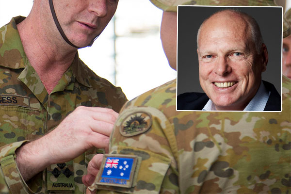 Article image for Not a 'wannabe': Jim Molan backs LNP candidate who wrongfully claimed war medal