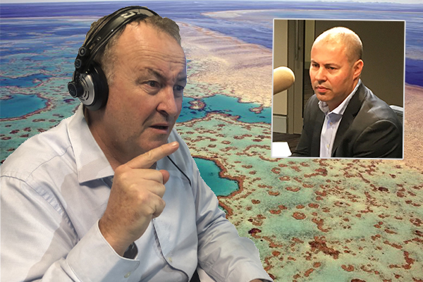 Article image for 'That's not how it works, Josh': $444-million reef grant mystery deepens