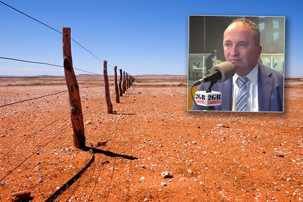 Article image for Drought relief: Barnaby pushing for centralised charities