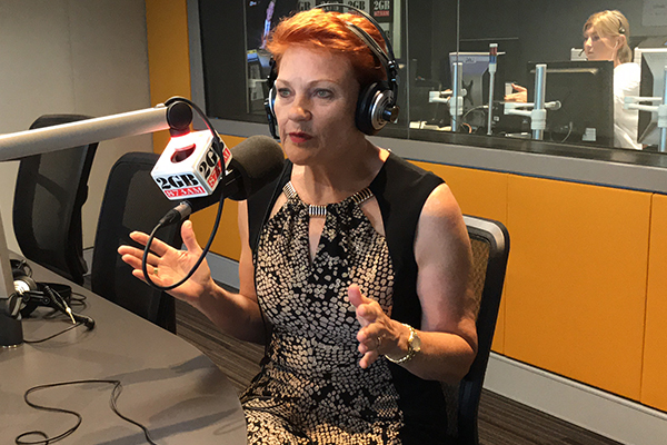 Article image for Pauline Hanson breaks down in tears as she delivers passionate message to our farmers