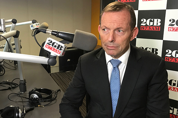 Article image for Tony Abbott accused of lobbying against Australian interests amid 'unhinged attacks'