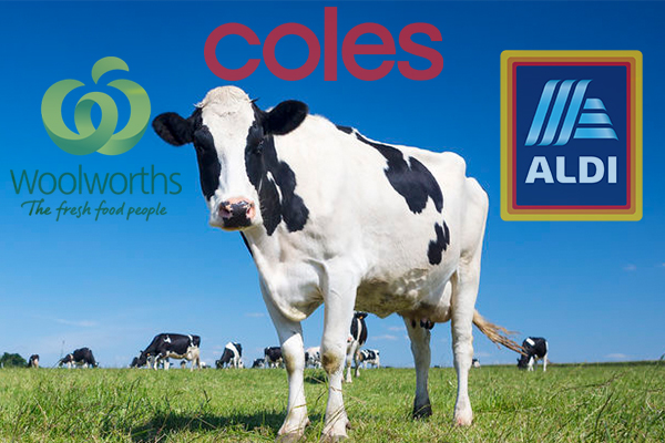 Article image for 'We don't need handouts, only a fair go': Dairy farmer takes aim at supermarket chains