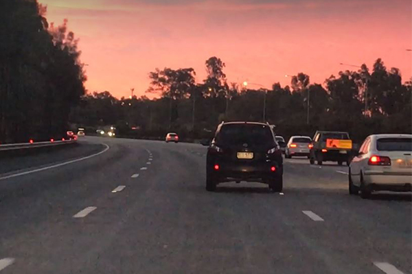 Article image for Alleged drug driver swerves across Gold Coast motorway with kids in the car
