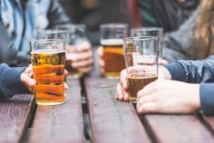 Going, going, goon! Aussies are booting the booze
