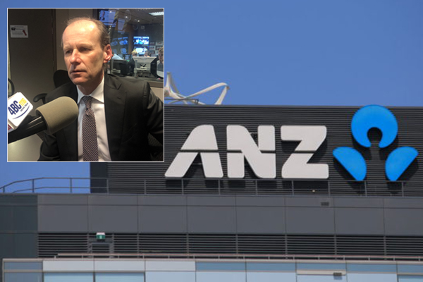 Article image for Increasing rates was 'inevitable' as bank's costs rise, ANZ boss says
