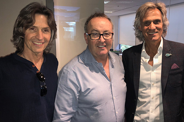 Article image for 'This is the best interview I've done': Dire Straits Experience join Chris in the studio