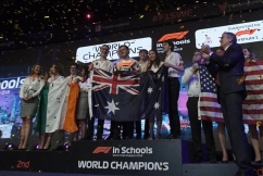 Aussie school team takes home the win at world final for high-speed racing car