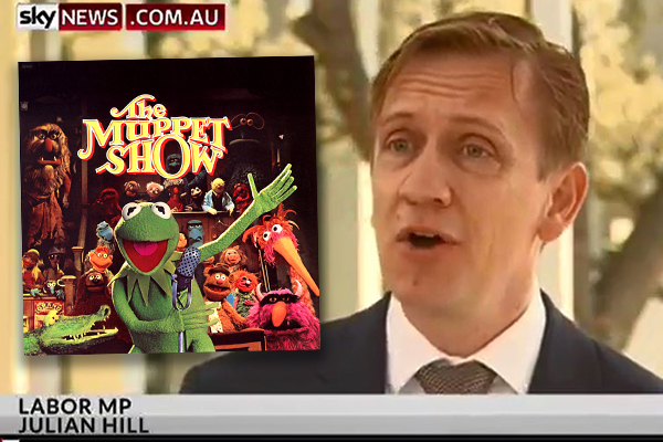 Article image for Labor MP gives his own rendition of The Muppet Show introduction