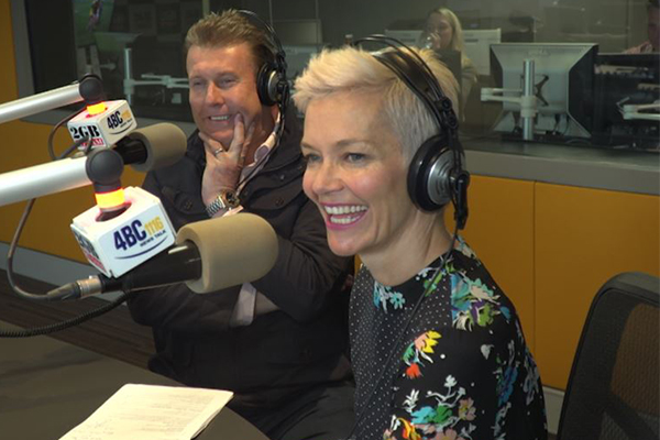 Article image for Peter Overton and Jessica Rowe are taking over Ray Hadley's job