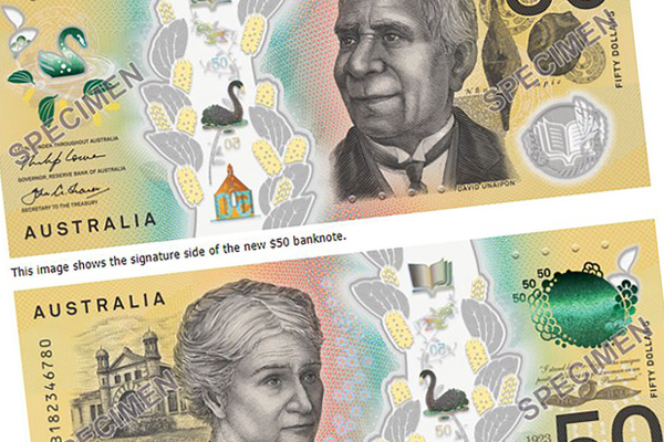 Article image for Is there a problem with the new $50 note?