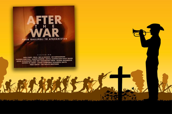 Article image for Aussie musicians band together to help our war veterans