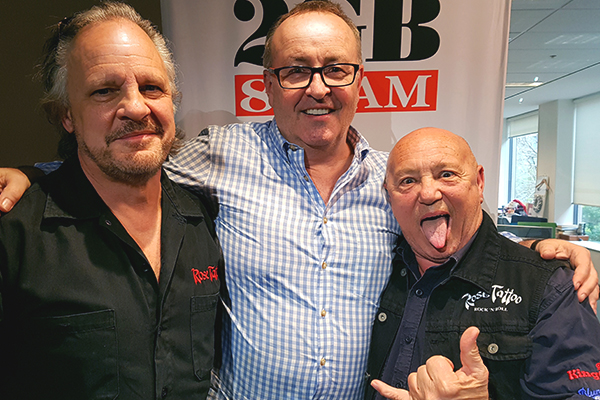 Article image for Iconic Aussie bad boy performs live in studio