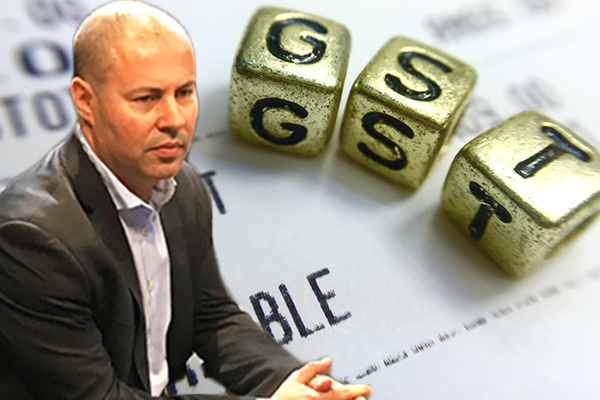 Article image for Treasurer rejects GST complaints from NSW and Queensland