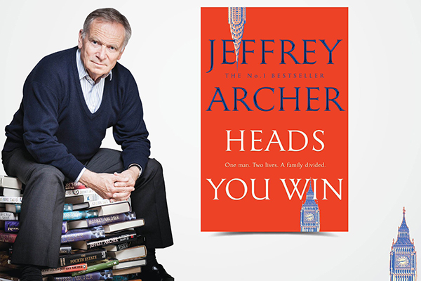 Article image for Lord Jeffrey Archer to release his 'biggest' novel in 40 years