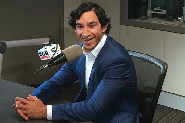 Article image for Johnathan Thurston has a dig at Mitchell Pearce: 'We can bring him unstuck'
