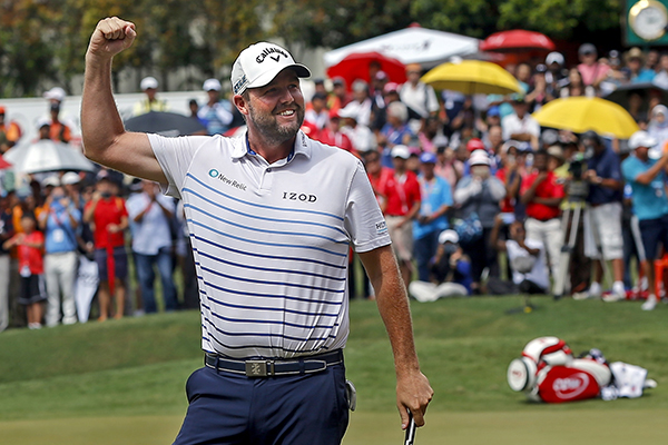Article image for Marc Leishman's 'little rule' that has him soaring up the world golf rankings