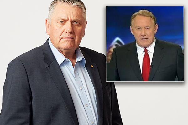 Article image for Newsreader Ron Wilson threatens to sue Ray Hadley
