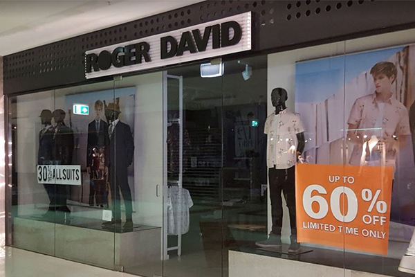 Article image for Customers flock to Roger David following collapse of iconic retailer