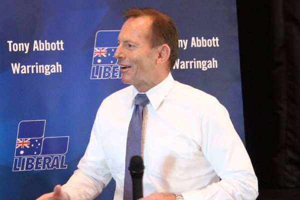 Article image for Tony Abbott ready for a dog fight at the next election