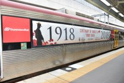 Troop train on track for Cleveland Remembrance