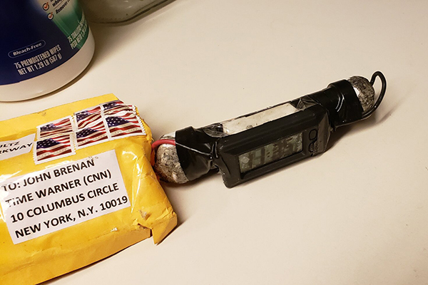Article image for Pipe bombs mailed to Barack Obama, Hillary Clinton and six other targets