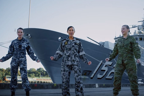 Article image for 'It's a bloody good message': Senator Jim Molan defends 'sickly' ADF video