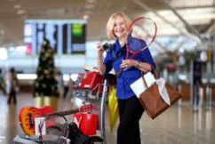 Grab a bargain from airport lost and found
