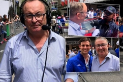 Chris Smith broadcasts live from Melbourne Cup Parade ahead of the great race