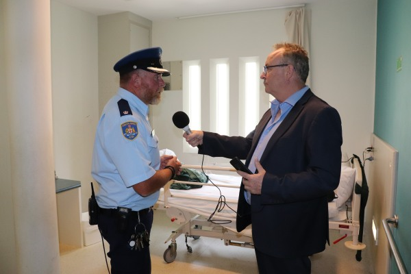 Courtesy of CSNSW - Tour of Long Bay - Manager of Security Todd Jeffries (6)