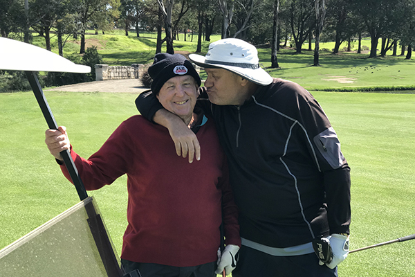 Article image for Ray loses his golfing buddy Dickie Hoyle to retirement