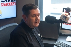 Father Chris Riley's annual Christmas gift card drive