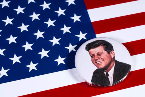Article image for A member of America's Kennedy family touches down in Australia