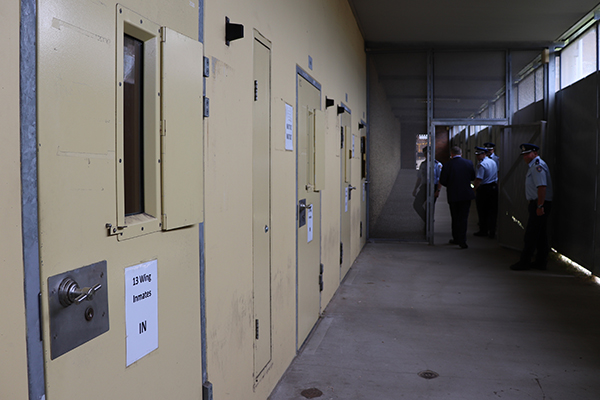 Article image for 'Worst of the worst': Chris Smith steps inside one of our most notorious jails