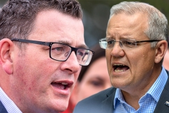 PM Scott Morrison takes a swing at Victorian Premier: 'I'd like to give him a few tips'