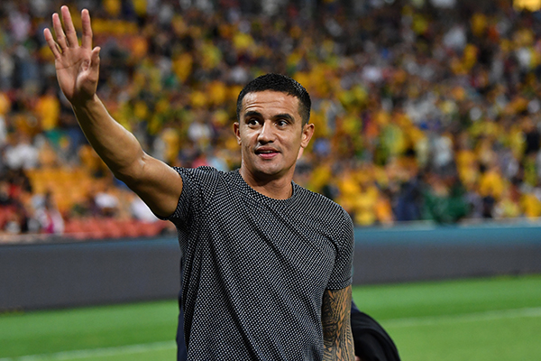 Article image for 'It's the right time': Tim Cahill speaks ahead of last game in the green and gold