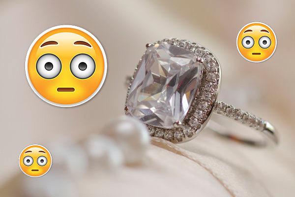 Article image for Barbara Sinatra's engagement ring goes under the hammer for how much?!