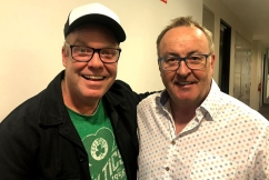 Peter Helliar's own marriage inspired his latest comedy series