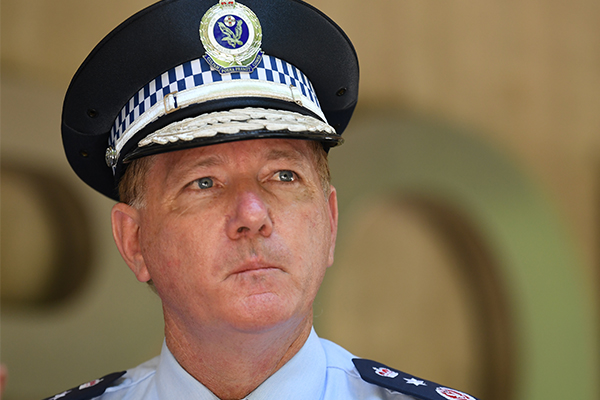 Article image for Police Commissioner opens up about the job that still haunts him