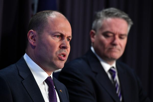 Article image for Treasurer refuses to rule out further tax cuts, government eyes first surplus in a decade