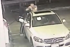 Four teens chargedafter a string a violent carjackings