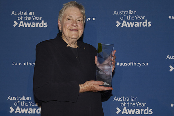 Article image for Senior Australian of the Year 'really humbled' by the honour