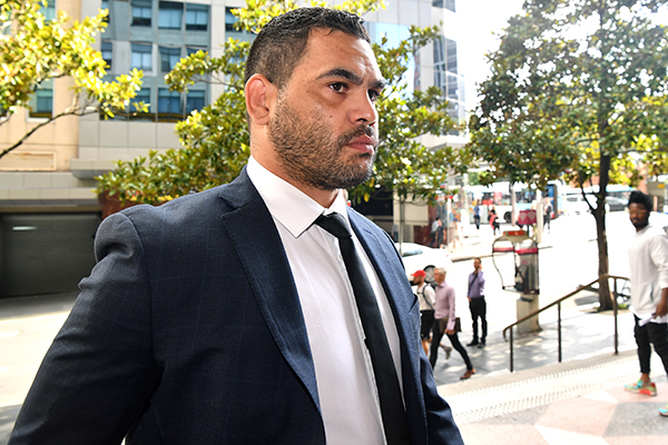 Article image for Greg Inglis escapes conviction for mid-range drink driving