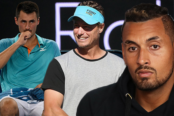 Article image for Aussie great says there is truth to Tomic's rant: 'You're either in the group or you're not'